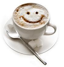 Beba cafe e seja feliz
