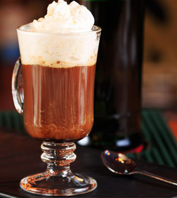happy hour irish coffee