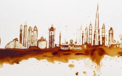 Arte com café: conheça Guillia Bernardelli