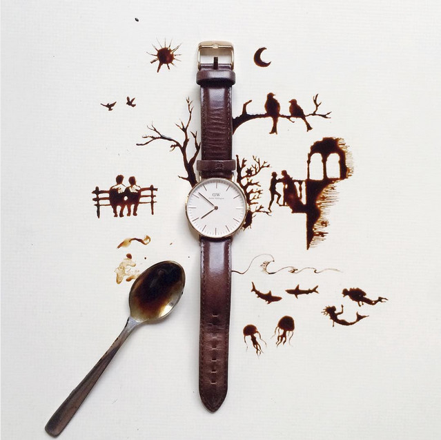 arte com café