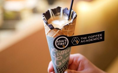Café na casquinha de sorvete… já ouviu falar?